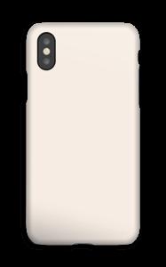 Beige deksel IPhone XS