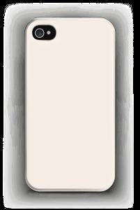 Beige kuoret IPhone 4/4s