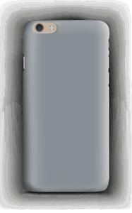 Grey case IPhone 6 Plus