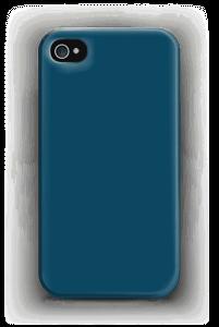 Syvänsininen kuoret IPhone 4/4s