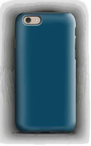 Syvänsininen kuoret IPhone 6s tough