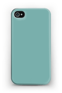 Turkoosi kuoret IPhone 4/4s