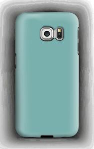 Turkoosi kuoret Galaxy S6 Edge