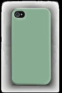 Vaaleanvihreä kuoret IPhone 4/4s