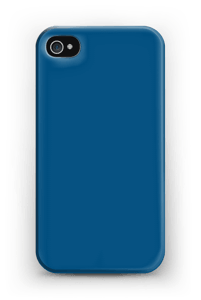 Sininen kuoret IPhone 4/4s