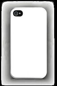 Valkoinen kuoret IPhone 4/4s