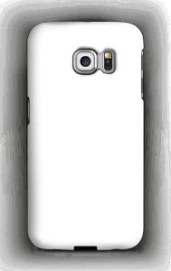Valkoinen kuoret Galaxy S6 Edge