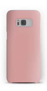 Dusty Pink case Galaxy S8