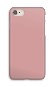 Dusty Pink case IPhone 8