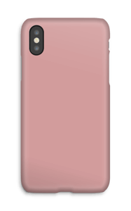 Dusty Pink case IPhone X