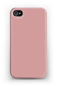 Dusty Pink case IPhone 4/4s