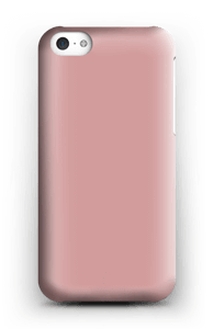 Dusty Pink case IPhone 5c