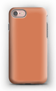 Dusty orange case IPhone 7 tough