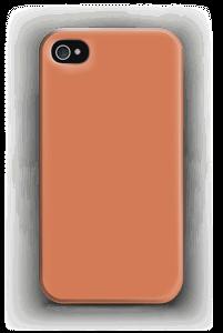 Oranssi kuoret IPhone 4/4s