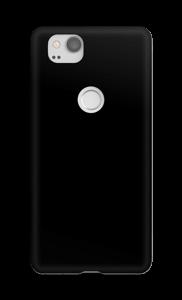 Negro funda Pixel 2