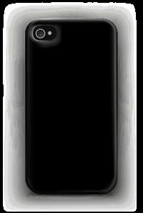 Musta kuoret IPhone 4/4s