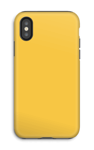 Jaune Coque  IPhone X tough
