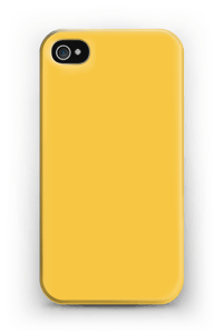 Jaune Coque  IPhone 4/4s