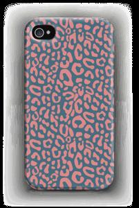 Vaaleanpunainen leopardi kuoret IPhone 4/4s