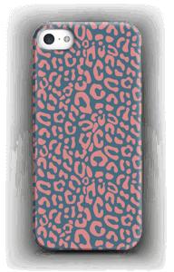 Vaaleanpunainen leopardi kuoret IPhone SE