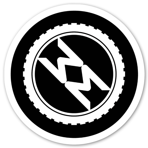 TotalMTB Logo pegatina