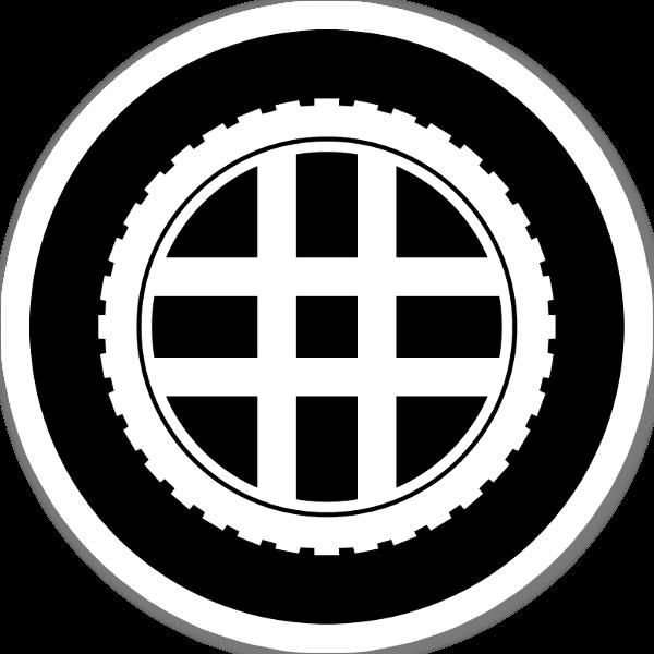 Logga TotalMTB  sticker