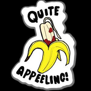 Quite Appeeling Sticker