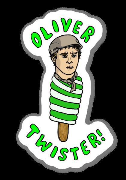 Oliver Twister sticker