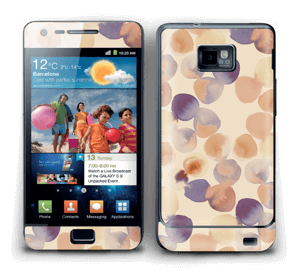 Beige Wasserfarbe Skin Galaxy S2