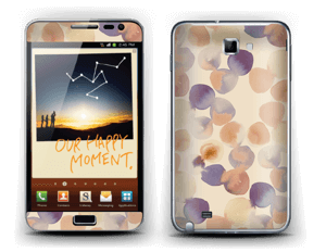 Beige Wasserfarbe Skin Galaxy Note