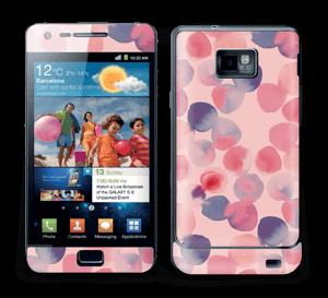 Rosa Wasserfarbe Skin Galaxy S2