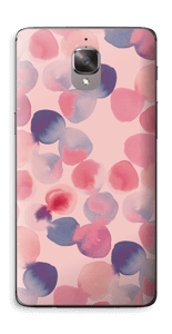 Rosa Wasserfarbe Skin OnePlus 3