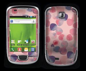 Rosa Wasserfarbe Skin Galaxy Mini