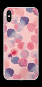Rosa vattenprickar Skin IPhone X