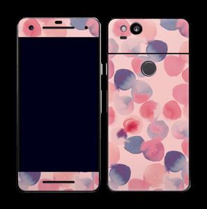 Rosa vattenprickar Skin Pixel 2
