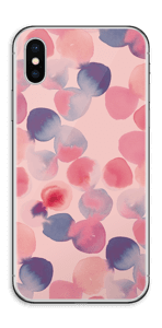 Tâches roses & bleues Skin IPhone XS