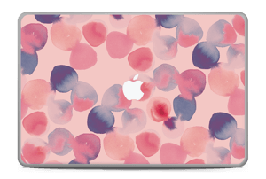 """Tâches roses & bleues Skin MacBook Pro 17"""" -2015"""