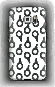 Lakritsitutti kuoret Galaxy S6 Edge