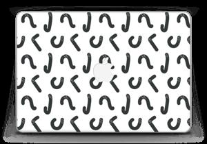 "Gänsehaut Skin MacBook Pro Retina 13"" 2015"