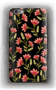 Roses sur Noir Coque  IPhone 6s Plus
