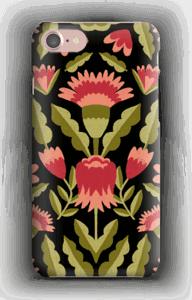 Blomster deksel IPhone 7
