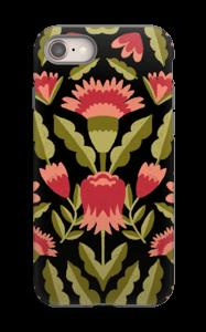 Roses symétriques Coque  IPhone 8 tough