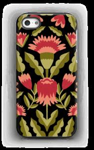 Blomster deksel IPhone 5/5s tough
