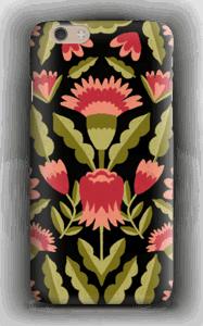Dark flower pattern case IPhone 6