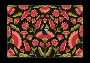"Roses graphiques Skin MacBook Pro 15"" 2016-"