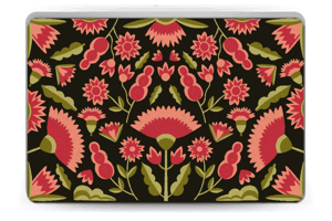 Roses graphiques Skin Laptop 15.6