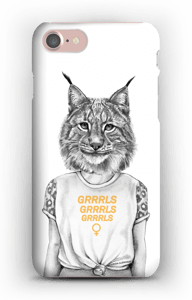 Grrrls kuoret IPhone 7