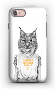 Grrrls kuoret IPhone 7 tough