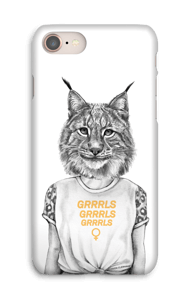 Grrrls kuoret IPhone 8