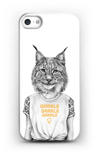 Grrrls kuoret IPhone 5/5S